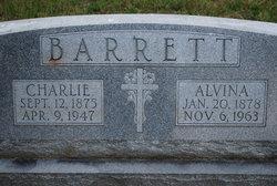 Alvina <i>Pfeffer</i> Barrett