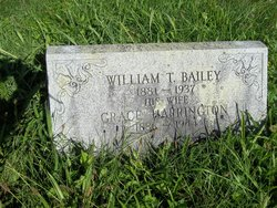 Grace <i>Harrington</i> Bailey