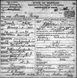 Nancy <i>Carpenter</i> Bragg