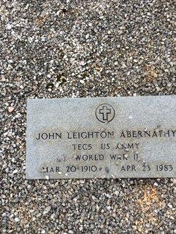 John Leighton Abernathy