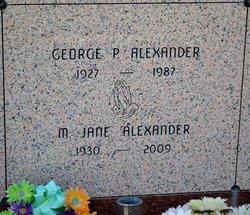 Mary Jane <i>Clark</i> Alexander