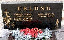 Gunnar Alfons Eklund