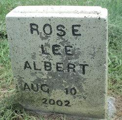 Rose Lee Albert