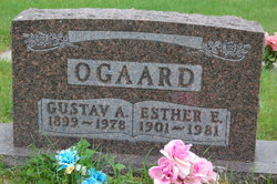 Esther E <i>Ortloff</i> Ogaard