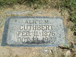Alice May <i>Tout</i> Cuthbert