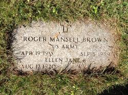 Ellen Jane Eej <i>Brundage</i> Brown