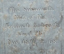 Susannah <i>Rogers</i> Babcock