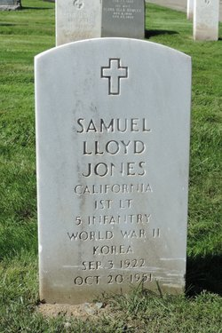 Lieut Samuel Lloyd Jones