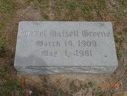 Hazel <i>Hatsell</i> Greene