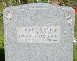 Nancy Jane <i>Sterling</i> Haymond