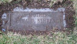Anna Dorothy <i>Mollner</i> Behrendt