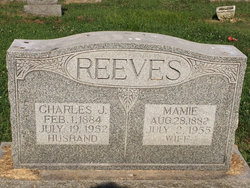Mamie <i>Hillgamyer</i> Reeves