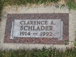 Clarence A. Schlader