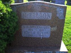 George Edward Douglas Gus McKibbon