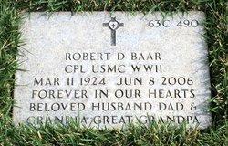 Robert D Baar