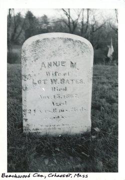 Anna Maria Annie <i>Pratt</i> Bates