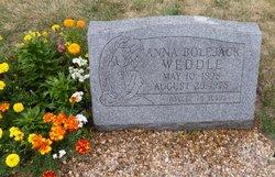 Nancy Anna Anna <i>Bolejack</i> Weddle