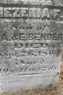 Hezekiah F. Bender