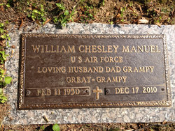 William Chesley Chet Manuel