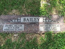Daniel Milton Bailey