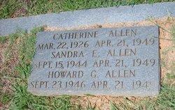 Annie Catherine <i>Maddox</i> Allen