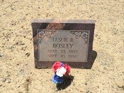 Leslie R Bosley