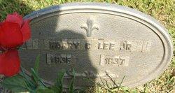 Harry Clifton Lee, Jr