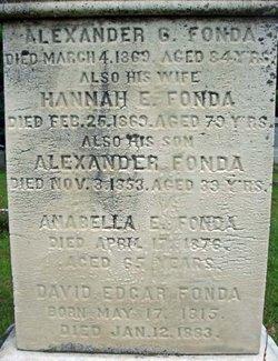 Hannah <i>Edgar</i> Fonda