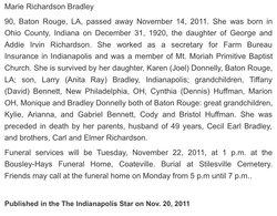 Marie <i>Richardson</i> Bradley