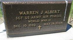 Warren J Albert