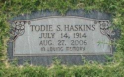 Todie <i>Stone</i> Haskins