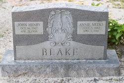 Annie <i>Meeks</i> Blake