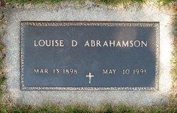 Louise D <i>Eliason</i> Abrahamson