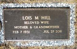 Lois Marilyn <i>Ripley</i> Hill
