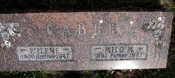 Florence Ilene <i>Gibbs</i> Cable