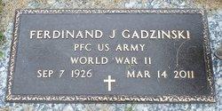 Ferdinand J Ferdi Gadzinski