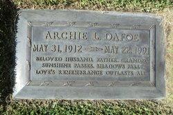 Archie Linus Dafoe