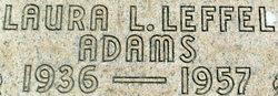 Laura Lee <i>Leffel</i> Adams