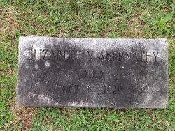 Elizabeth Davis <i>Yancey</i> Abernathy