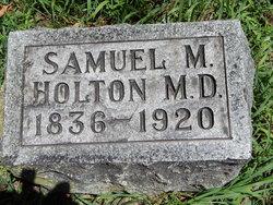 Samuel M Holton