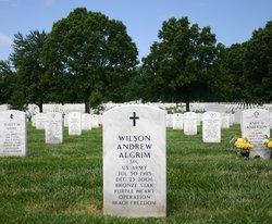 PFC Wilson Andrew Algrim