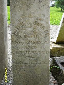 John Conrad Baker, Jr