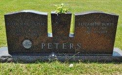 Elizabeth betty <i>Burts</i> Peters