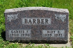 Carrie Frances <i>Yates</i> Barber