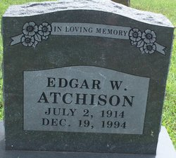 Edgar William Ed Atchison