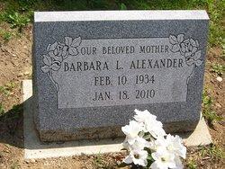 Barbara L. <i>Decker</i> Alexander
