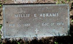Mildred E. Millie Abrams