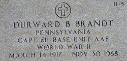 Capt Durward B. Brandt