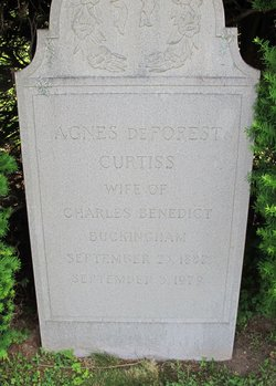 Agnes DeForest Granny B <i>Curtiss</i> Buckingham