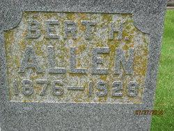 Bert H Allen